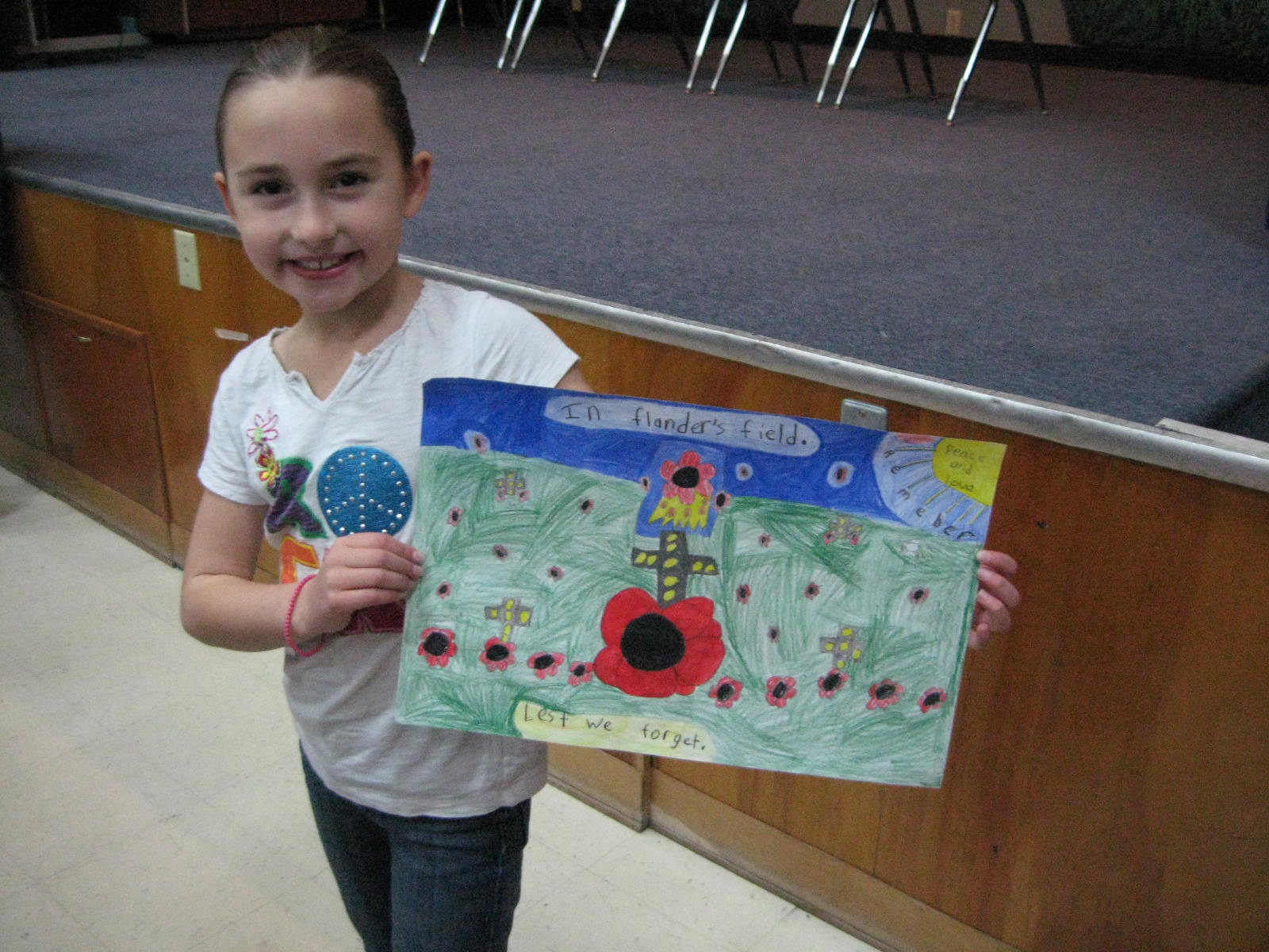 Prize Winning Remembrance Day Posters Remembrance Day Poster Contest